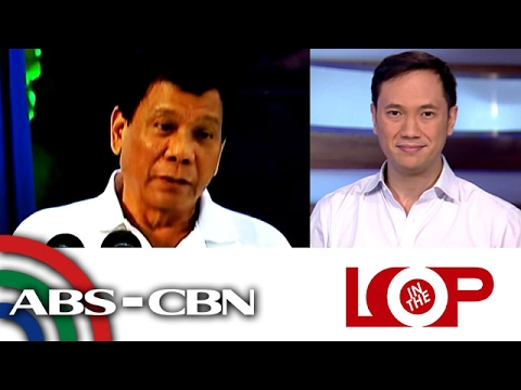 In the Loop: Duterte repeating Colombia's mistakes on war on drugs says ex-president
