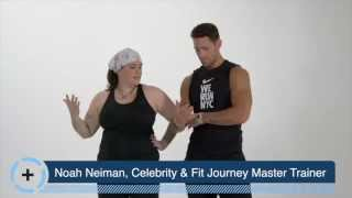 Fit Journey Upper Body Workout with Julia Dalton-Brush & Noah Neiman. Level 2+