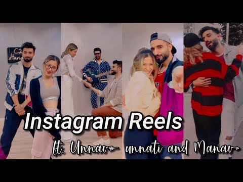 Download Unnati and Manav instagram reels  Damnfam couple Unnav reels 