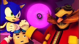 SONIC IN MINECRAFT 9! ROBOTNIK TAKES OVER - ANIMATION