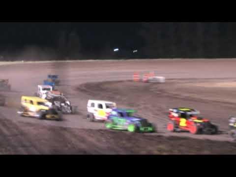 Southern Oregon Dwarf cars,  SODCA at SO. Speedway 6-22-19 Main