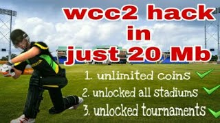 Wcc2 new version hack in just 20 mb with unlimited coins | by Technical marwadi