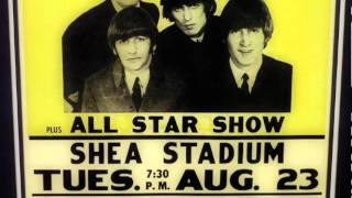 The Beatles Shea Stadium 1964 Concert Poster