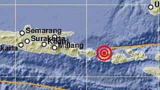 Gempa Susulan Magnitudo 6,2 Guncang NTB dan Bali