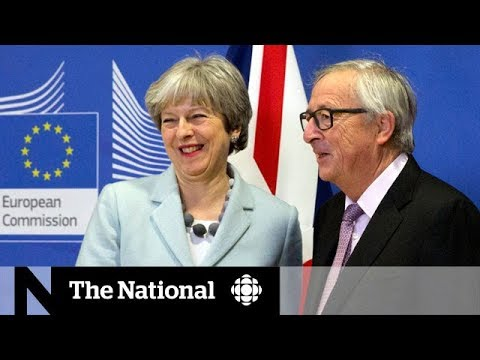 Theresa May and EU agree to deal for Brexit talks to progress