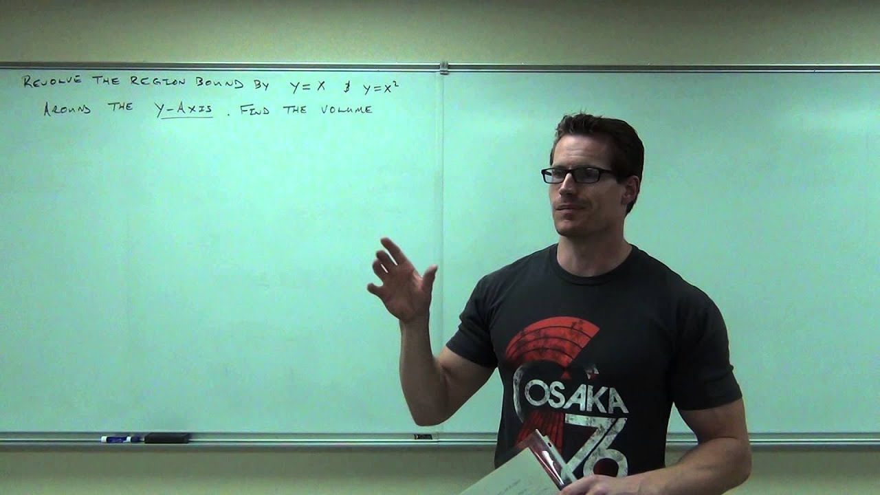 Calculus 1 Lecture 5.3: Volume of Solids By Cylindrical ...