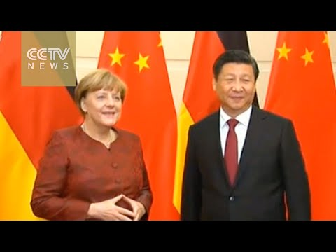 Chancellor Merkel's China trip to focus on trade and steel