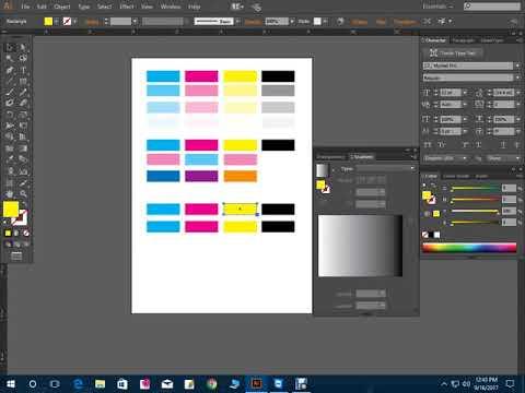 Color Pallet   Color Combination  CMYK Control   Class 11