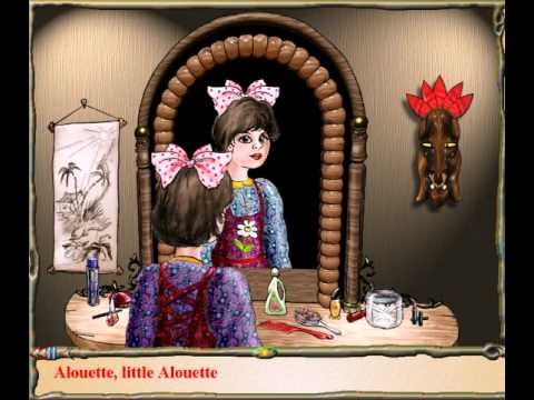 Alouette, Little Alouette (with lyrics)