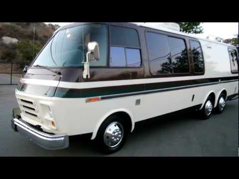 1973 GMC Motorhome Factory Chevy RV TVS-4 Stripes EM-50 Urban Assault Vehicle