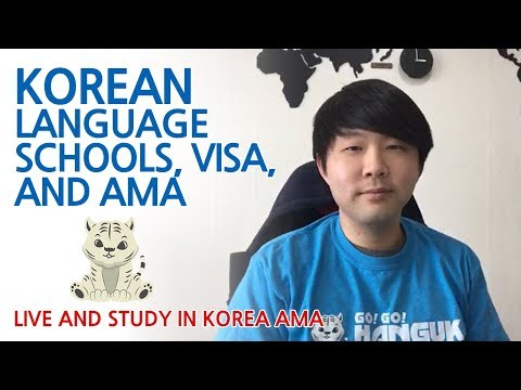 AMA - how to live and study in Korea