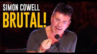 Old SAVAGE Simon Cowell is Back on @America
