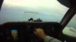Foxstar Baron 58 GAMI Lean Test with JPI EDM-760 and Aspen GPSS Approach