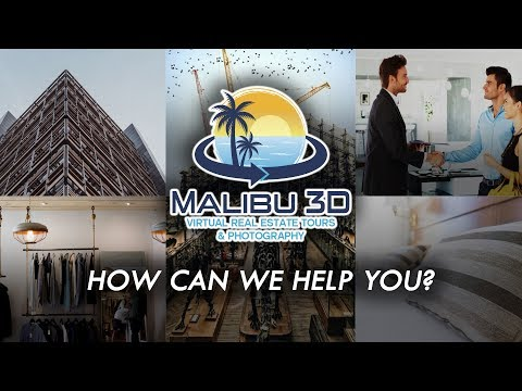 Malibu 3D Virtual Real Estate Tours & Photography - Intro