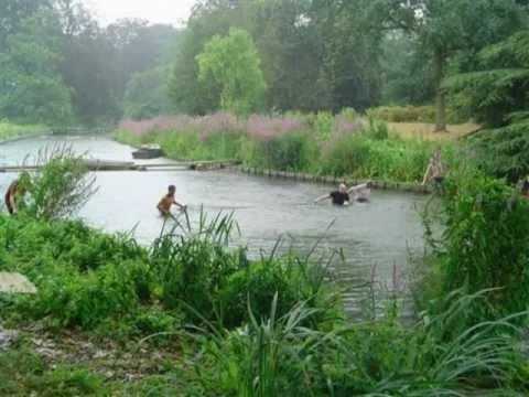 Redding vissen park vijver youtube for Vissen vijver