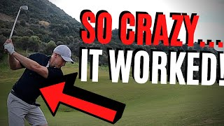THIS CRAZY NEW GOLF HACK WORKED!?