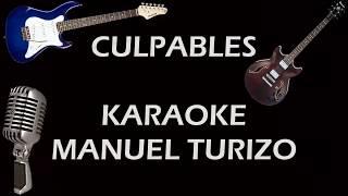 CULPABLES KARAOKE-Manuel turizo