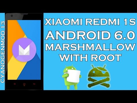 Xiaomi Redmi 1S Marshmallow, Android 6.0 - How to update & root?