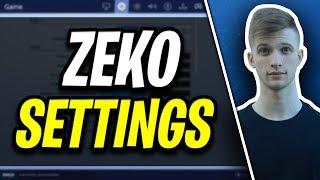 Zeko Fortnite Settings and Keybinds (Pro Fortnite Player)