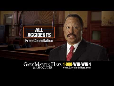 Atlanta Personal Injury Lawyer Gary Martin Hays and Judge Joe Brown Auto Accident Commercial
