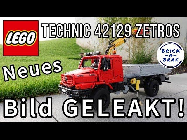 NEUES BILD des LEGO® Technic 42129 Mercedes ZETROS GELEAKED! -News zur LEGO® Technic Neuheit [2021]
