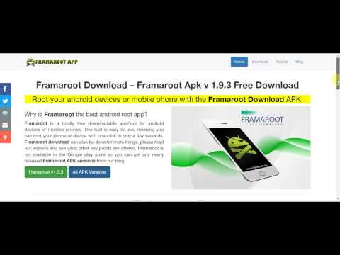 How To Download Framaroot App