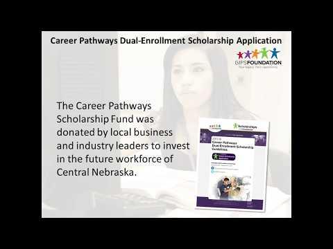 Dual Enrollment Scholarship Information for 2017-18