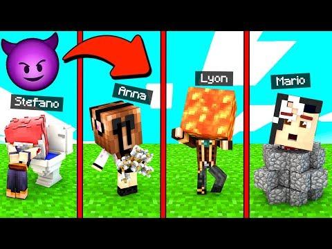 IL BULLO CI HA PICCHIATO! - Scuola di Minecraft #5