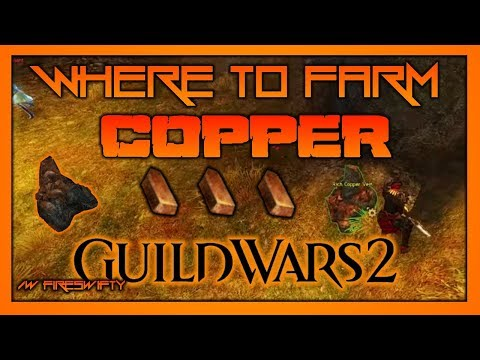 WHERE TO FARM COPPER?! | Guild Wars 2 Guide/ Tutorial | Where to Farm Materials #1