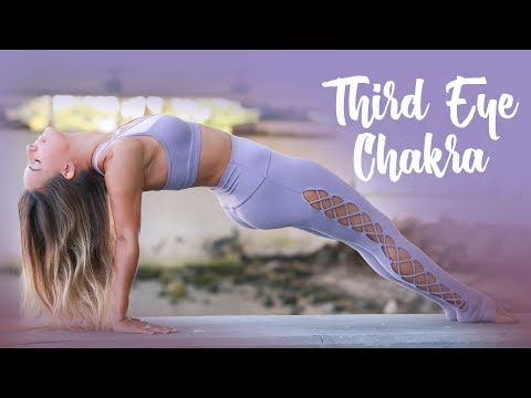 Third Eye Chakra: Yoga Practice to Trust Your Intuition I Chakra Challenge