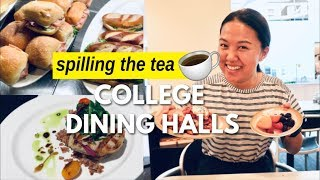 THE TRUTH ABOUT COLLEGE DINING   UPenn Dining Hall Tour