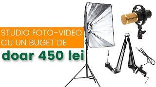 Studio foto-video cu doar 450 lei 😱