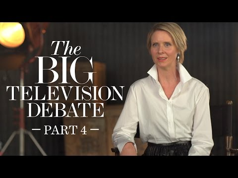 Cynthia Nixon & TV's Biggest Actresses Debate Equality | Pt 4