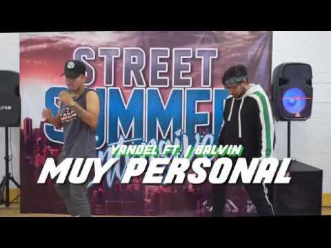 Yandel - Muy Personal ft J Balvin - Choreography by Adrian Rivera