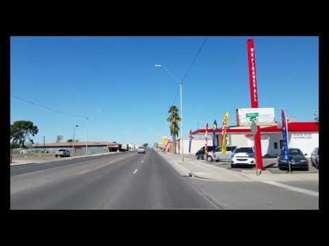 Driving though Coolidge Arizona