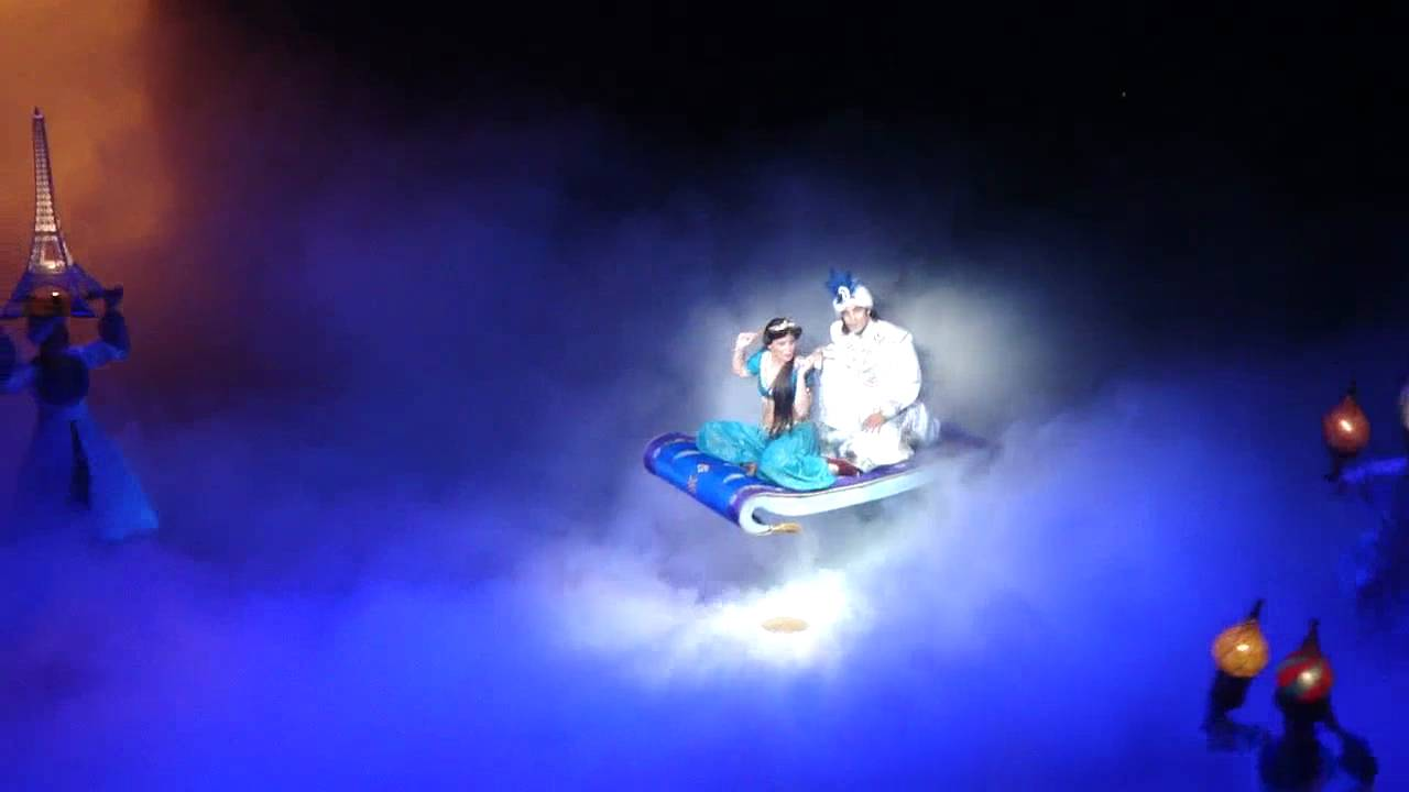A Whole New World The Aladdin Musical California Adventure YouTube
