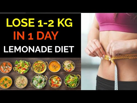 Lose 1 Kg – 2 Kg in 1 Day | Easy Diet Plan to Lose Weight Fast | Indian Diet Plan Weight loss Diet