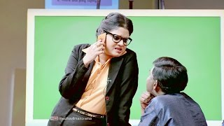Prekshakare Aavshyamundu I Ep 12 - Bomb threat in spoken english class room ! I Mazhavil Manorama