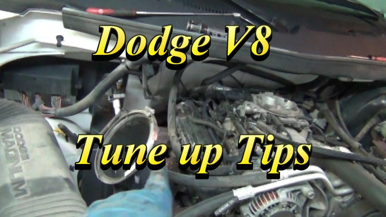 hight resolution of dodge v8 tune up tips