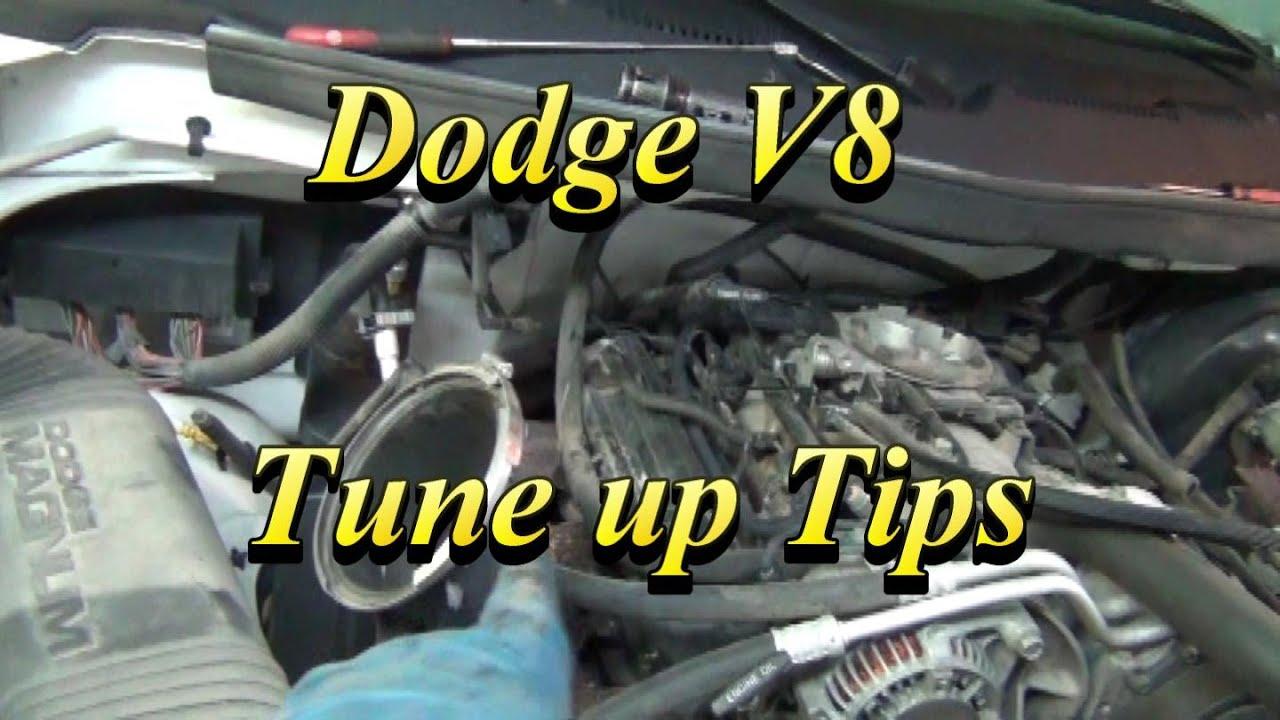 Dodge V8 Tune Up Tips Youtube