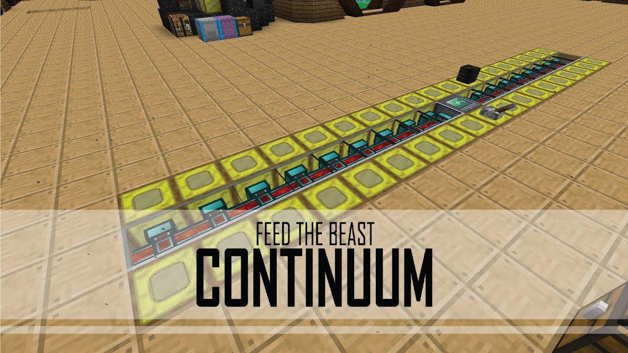 [BETA] FTB Continuum - 21 - FULLY FUNCTIONING BEE FARM