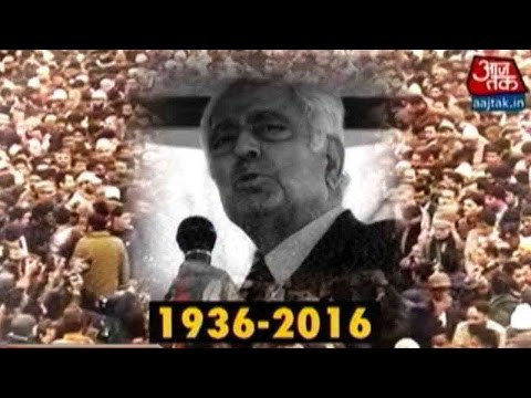 J&K Mourns The Death Of CM Mufti Mohammad Sayeed