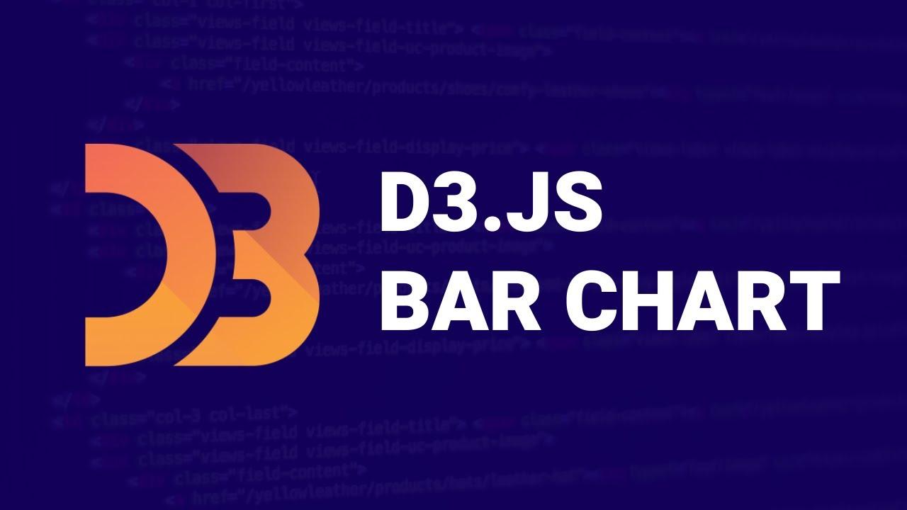 D3.js Tutorial - Making a Bar Chart Graph