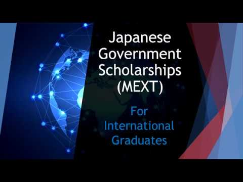 MEXT Scholarship 2019 (Fully Funded) - Scholarships for
