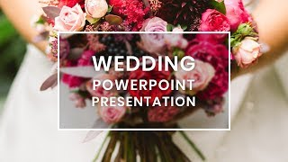 Wedding Invitation PowerPoint Template Free Download 2019