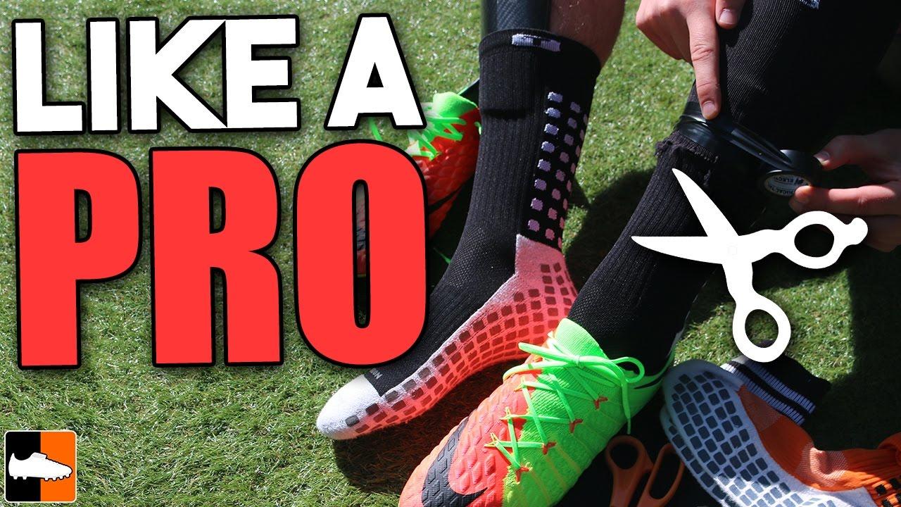 c4064e17d How To Wear Socks Like A Pro. Football Boots