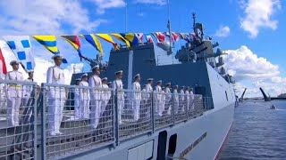 Putin reveals plan to expand Russia's navy with 40 new vessels