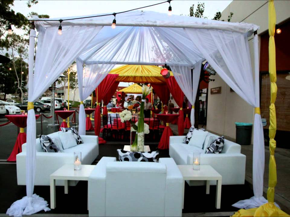 Persiano Events Wedding And Outdoor Fabric Tents Lighting And Lounge Furniture In Orange