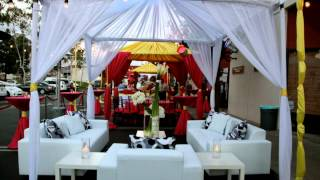 Persiano Events : Wedding And Outdoor Fabric Tents, Lighting And Lounge Furniture In Orange County