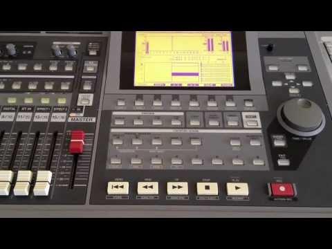 Roland VS 1680 - 03 - Recording Vocal Track (HD)